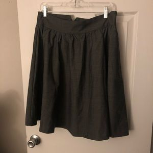 Perfect gray work work skirt, A silhouette